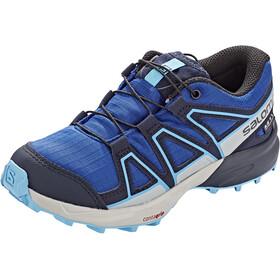 Salomon Speedcross CSWP Shoes Kids surf the web/navy blazer/ethereal blue